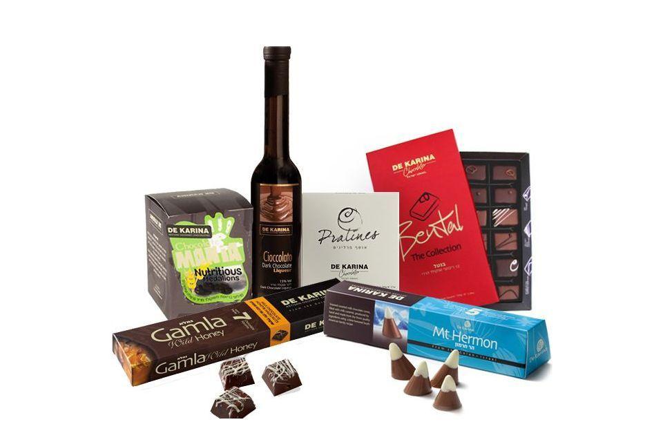 """מארז שוקולד """"דה קרינה"""" גדול"""