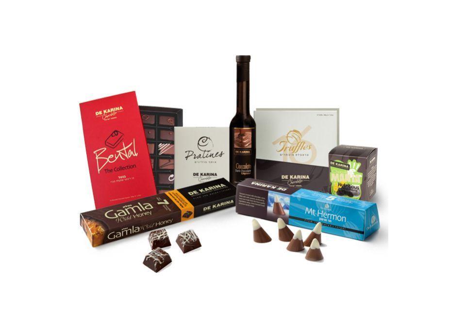 """מארז שוקולד """"דה קרינה"""" ענק"""