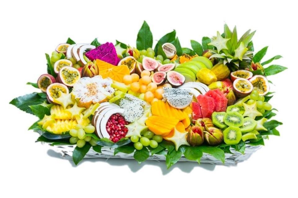 סלסלת פירות האקזוטית