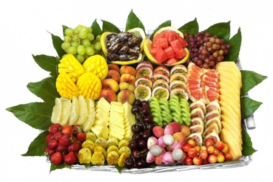 סלסלת פירות החגיגית ענקית