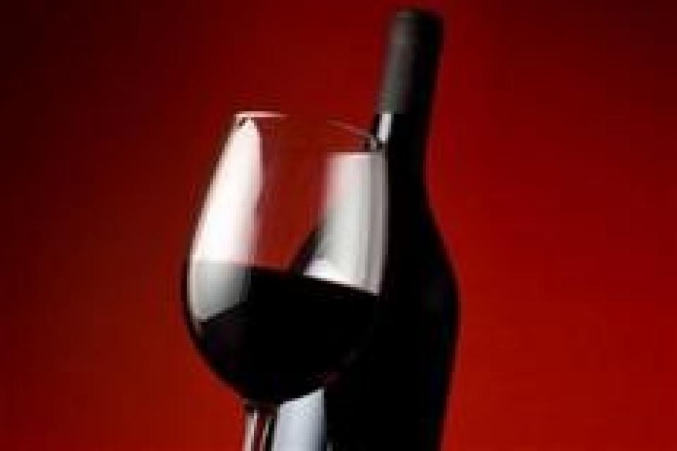 בקבוק יין מרלו גמלא