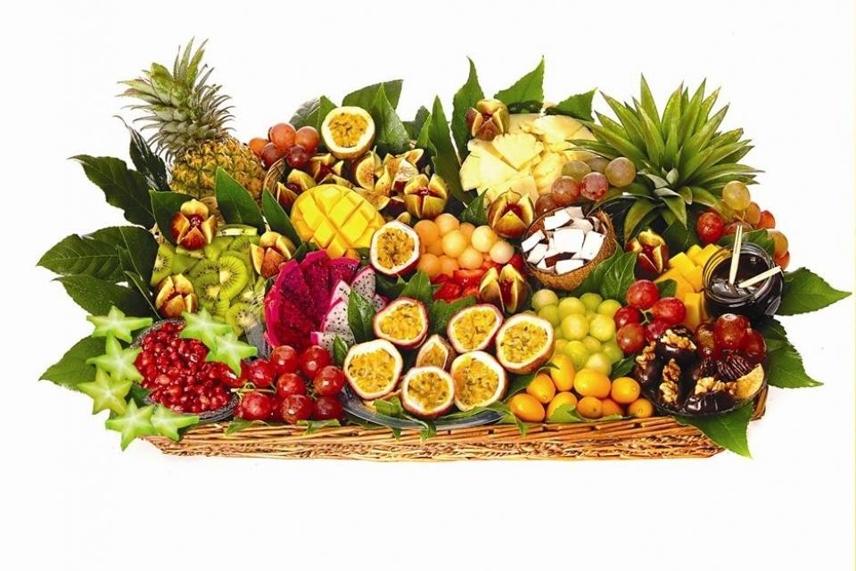 סלסלת פירות חברותית