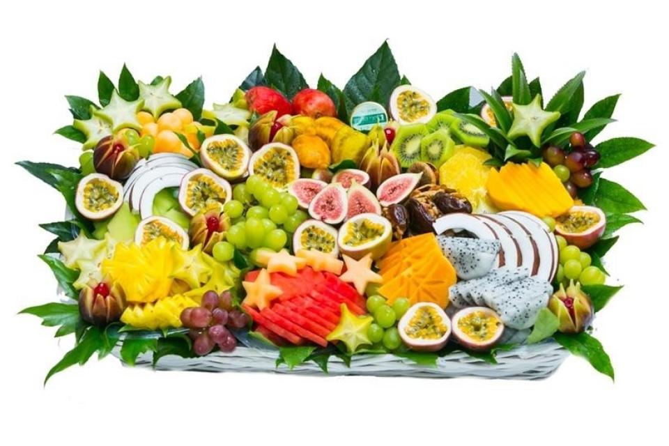 סלסלת פירות גדולה לראש השנה