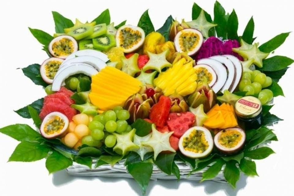 סלסלת פירות מרגשת