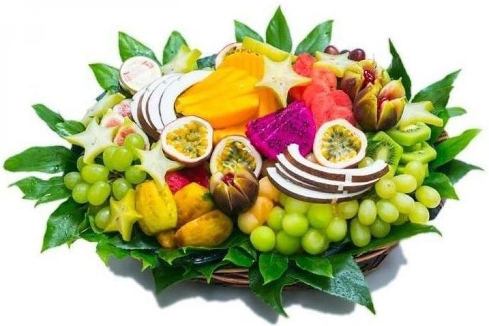 סלסלת פירות שובבה