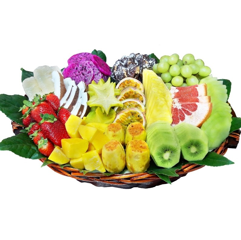 סלסלת פירות המפוארת