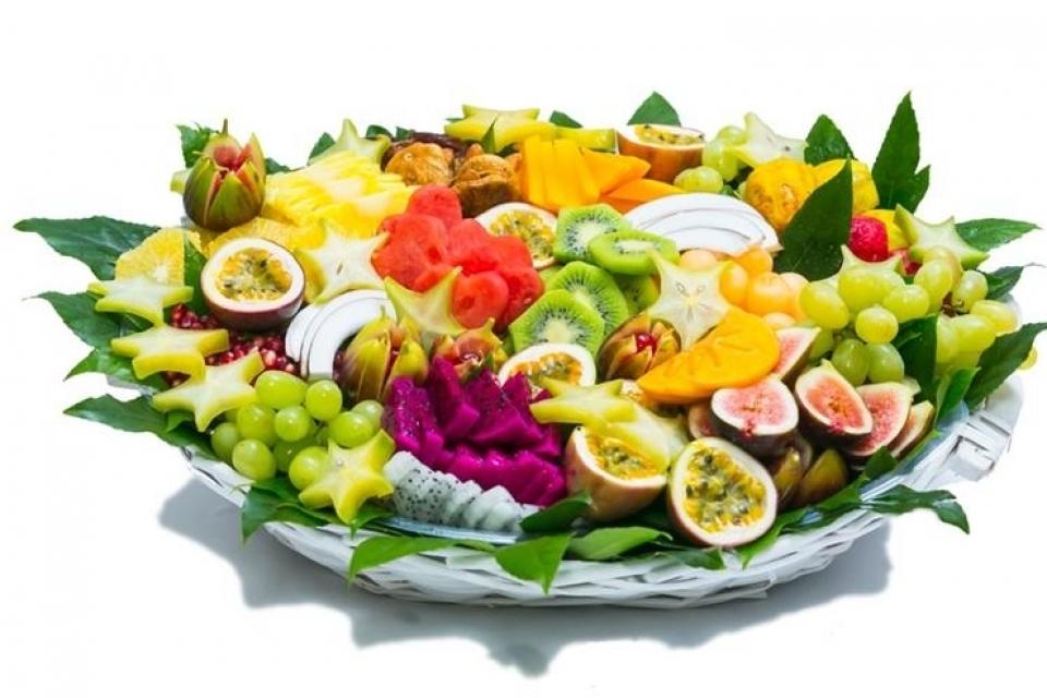 סלסלת פירות מרגשת בינונית