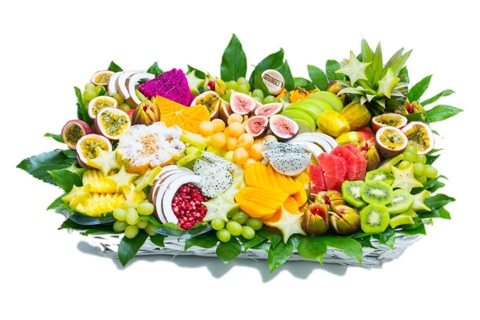 סלסלת פירות אקזוטית