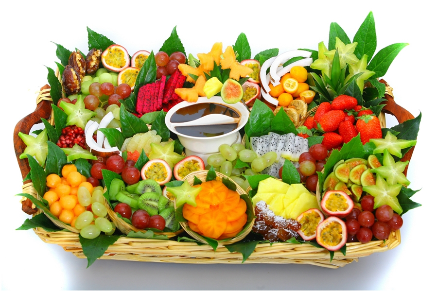 סלסלת פירות המפנקת