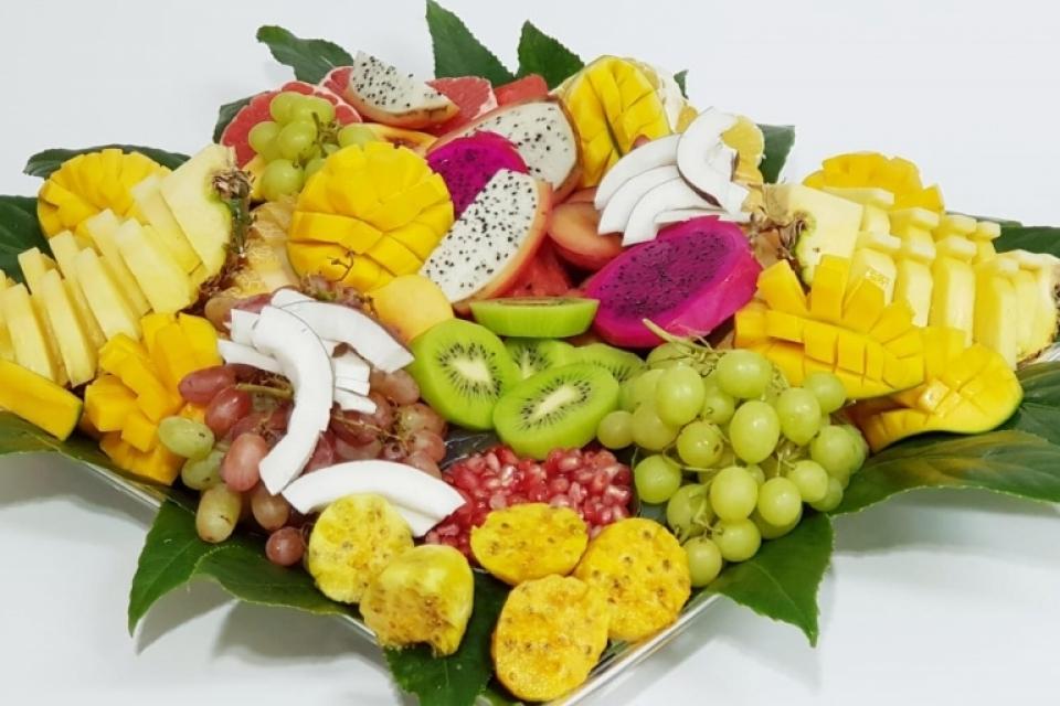 מגש פירות לוקה
