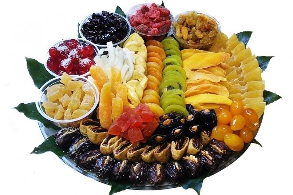 מגש פירות ספיישל יבשים קטן